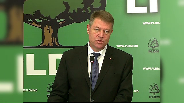Klaus Iohannis, in vizita la Chisinau. Ce promisiune le-a facut moldovenilor inaintea unor alegeri cu o miza uriasa
