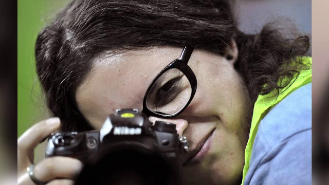 Teodora Maftei, fotograf PRO TV, intre ranitii de la Colectiv. Mesajul salvatorului ei: \