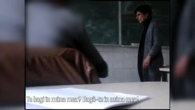 profesoara care loveste un elev, Tulcea