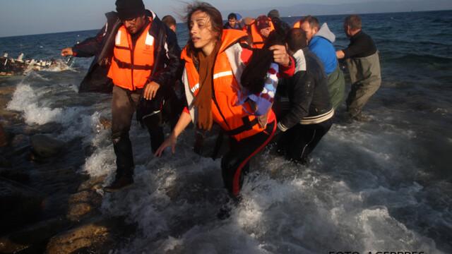 refugiati veniti pe mare