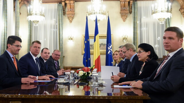 Consultari Controceni, Iohannis - PSD