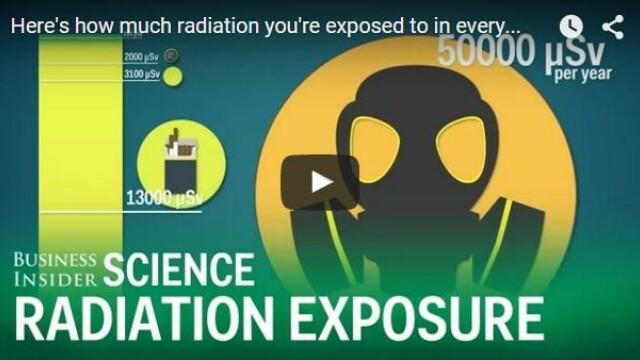 VIDEO Care sunt sursele de radiatii la care ne expunem in fiecare zi