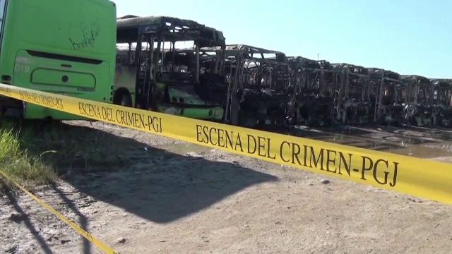 Un incendiu urias a carbonizat 47 de autobuze, in Mexic. Ipoteza anchetatorilor despre izbucnirea flacarilor