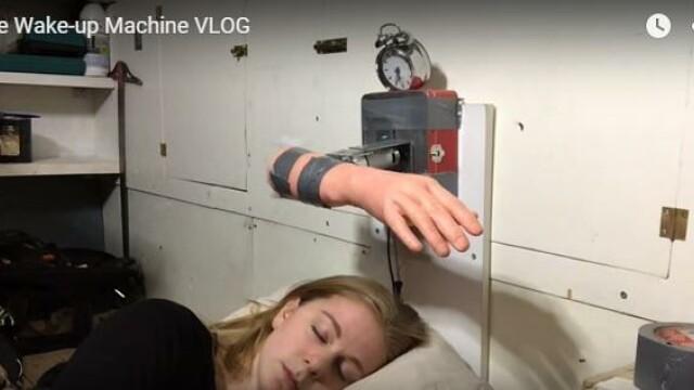 VIDEO. Cum arata cel mai agresiv ceas desteptator