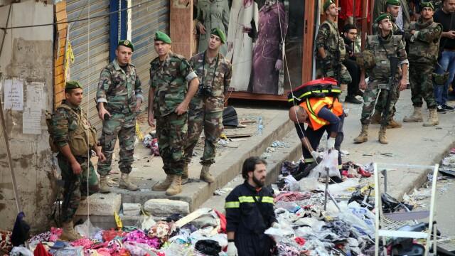 Dublu atentat in Liban, soldat cu 43 de morti. Statul Islamic a revendicat atacurile