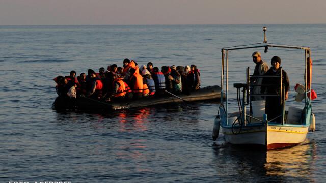 refugiati in Marea Egee