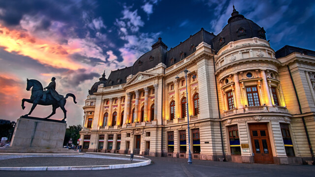 centru Bucuresti seara