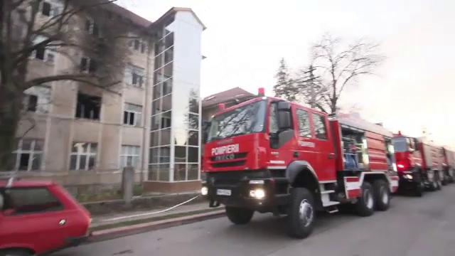 incendiu Simeria