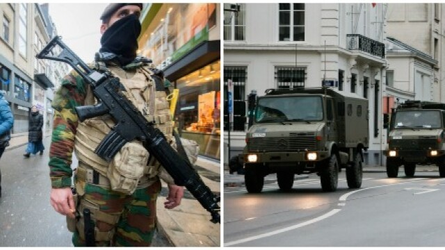 Stare de alerta in Belgia cover