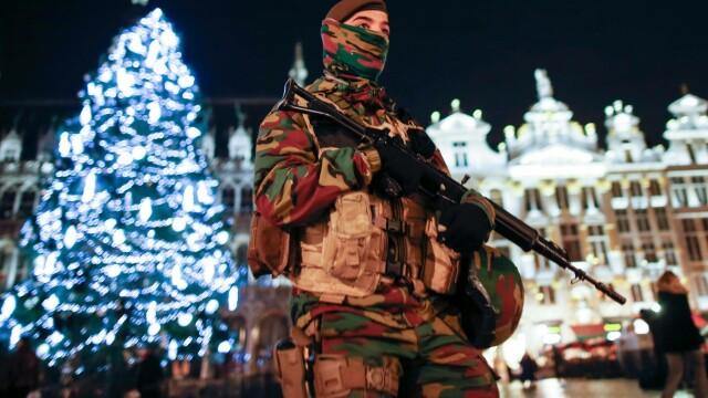Amenintare cu atentate la Bruxelles. Primarul anuleaza focurile de artificii si festivitatile de Anul Nou