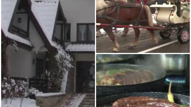 Turistii au umplut pensiunile din Bucovina in vacanta de 1 Decembrie. \