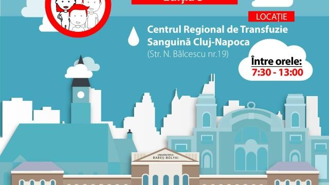"""Campania """"Donam impreuna, UBB da startul!"""" a ajuns la cea de-a 3-a editie"""