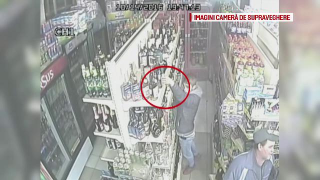 La 16 ani a fost prins furand bauturi alcoolice dintr-un magazin din Dej. Metoda folosita de adolescent