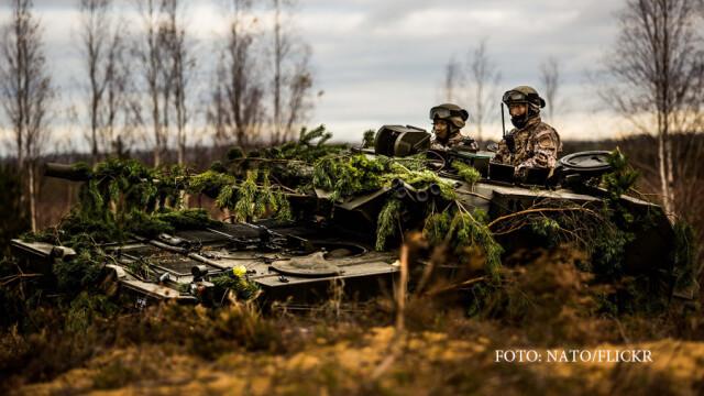 300.000 de militari NATO, in alerta de grad ridicat din cauza Rusiei. \