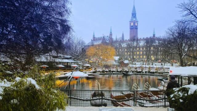 Sarbatorile de iarna se traiesc mai intens in Nord. Ce le ofera Copenhaga celor care nu se tem de gerul de afara