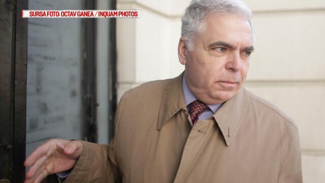 Adrian Severin se prezinta pentru judecare ultimului termen in dosarul in care este acuzat de luare de mita si trafic de influenta, la sediul Inaltei Curti de Casatie si Justitie, in Bucuresti, luni, 14 noiembrie 2016