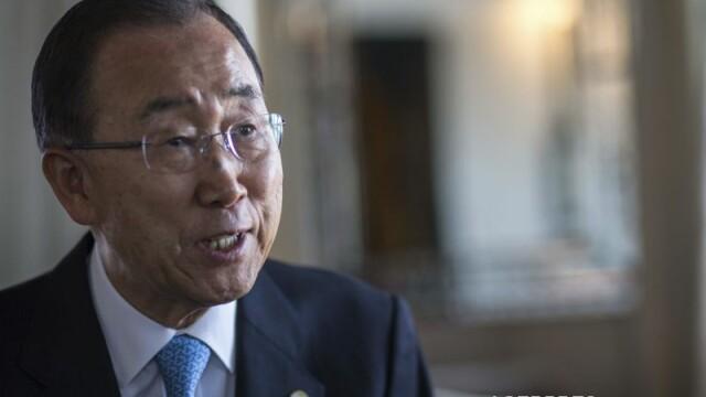 Ban Ki-moon, mesaj de Ziua Nationala a Romaniei. Secretarul ONU a multumit functionarilor romani