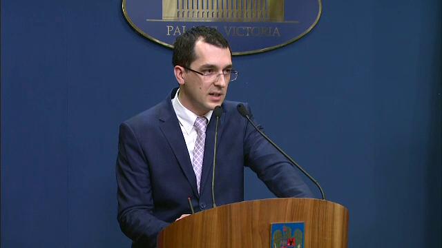 Fostul ministru al Sanatatii, Vlad Voiculescu: \