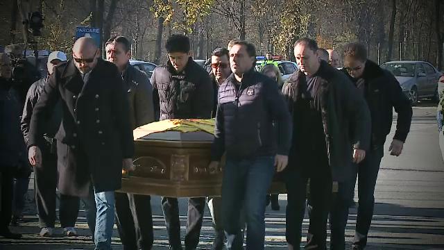 Daniel Prodan a fost inmormantat. Gica Popescu: \