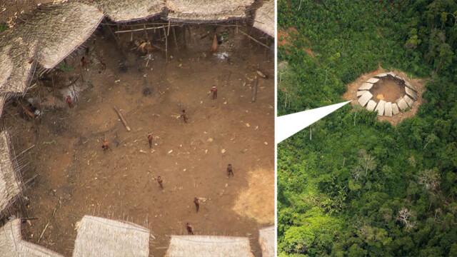 Au fotografiat din avion jungla amazoniana, dar au avut o surpriza cand au privit imaginile de aproape. Ce au descoperit.FOTO