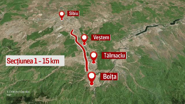 Traseul complet al autostrazii Sibiu-Pitesti a fost stabilit oficial. Cate tuneluri va avea si cand ar trebui sa fie gata