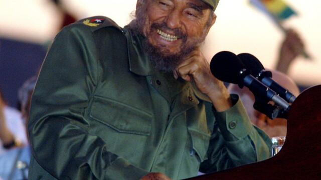 Zeci de mii cubanezi si lideri din America Latina au participat la o ceremonie in memoria lui Castro, la Havana