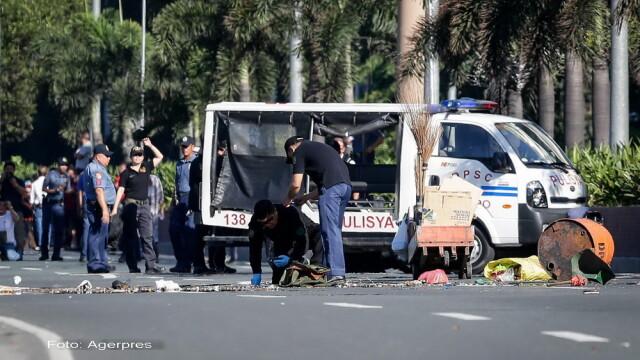 Atentat dejucat langa Ambasada SUA din Manila. Bomba amplasata de islamisti, cu raza de actiune de 100 de metri, dezamorsata - Imaginea 1
