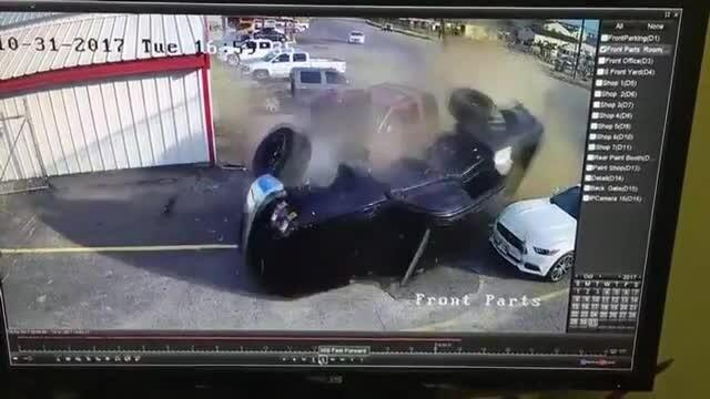 accident sofer drogat