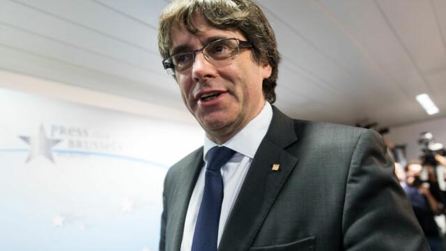 Guvernul spaniol: Puigdemont nu va putea conduce Catalonia din exilul autoimpus