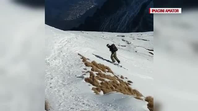 Vacanța la munte, o alegere fericită. Curajoșii au schiat, în Masivul Bucegi