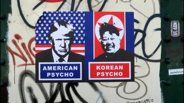 Donald Trump si Kim Jong-un