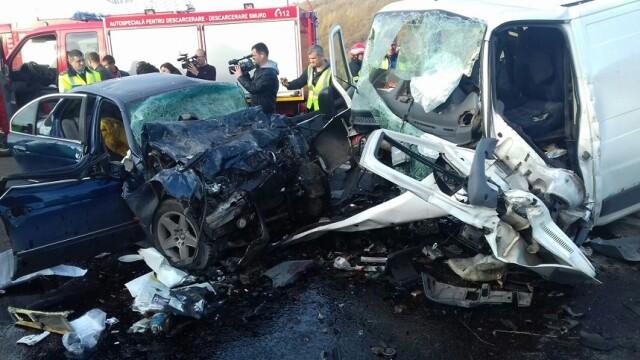 Trei morți și un rănit grav în urma unui accident în Constanța