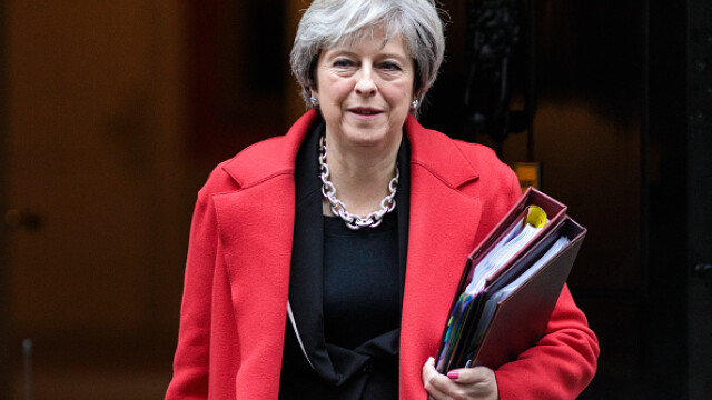 """Theresa May ar dori ca """"nota de plată"""" pentru Brexit să fie de 40 de miliarde de euro"""