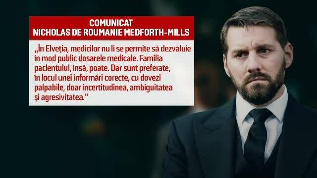 Fostul principe Nicolae cere informații clare despre starea de sănătate a Regelui Mihai