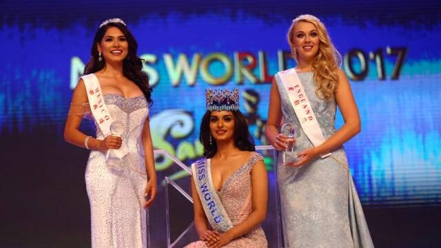 Miss India Manushi Chhilar a castigat Miss World 2017