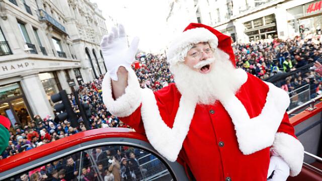 Marea Britanie: Parada jucăriilor de Crăciun