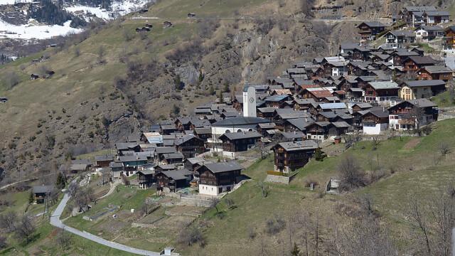 satul Albinen din Elvetia