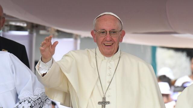 """Papa Francisc, despre prostituție: """"E o crimă împotriva umanității"""""""