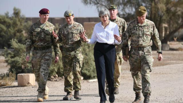 Theresa May, vizită surpriză în Irak