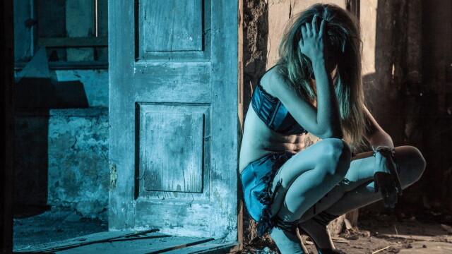 prostituata, trafic de persoane