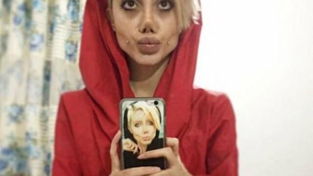 Tânăra care s-a operat ca să arate ca Angelina Jolie, arestată pentru