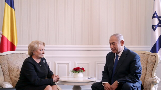 Benjamin Netanyahu si Viorica Dancila