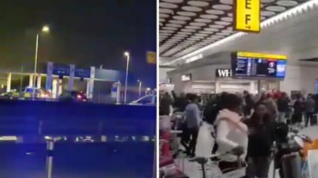 Alertă de securitate pe aeroportul Heathrow din cauza unui pachet suspect
