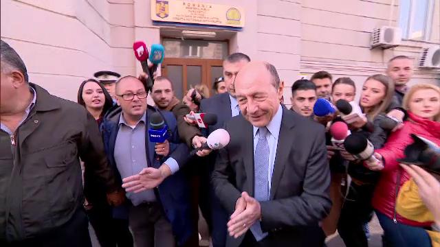 Traian Băsescu, DNA