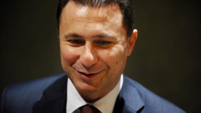 Nikola Gruevski, prim-ministrul Republicii Macedonia