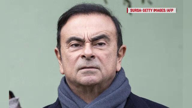 """Directorul general al alianței """"Renault - Nissan - Mitsubishi"""", din care face parte și Dacia, arestat la Tokyo"""