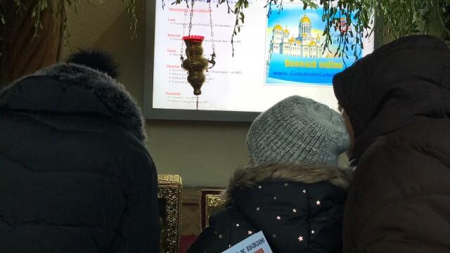 Credincioșii de la moaștele Sf. Andrei și ale Sf. Ecaterina, îndemnați să doneze pentru Catedrală