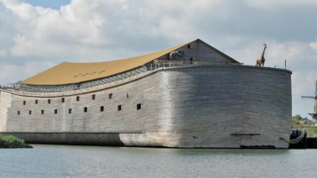 """Un om de afaceri a construit o Arcă a lui Noe ca în Biblie: """"Cred tot ce e scris în această carte"""""""