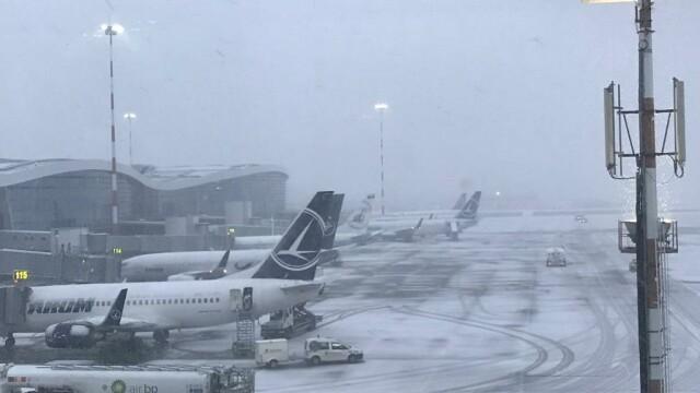 Compania de Aeroporturi Bucureşti: Pot fi înregistrate întârzieri de până la 30 de minute