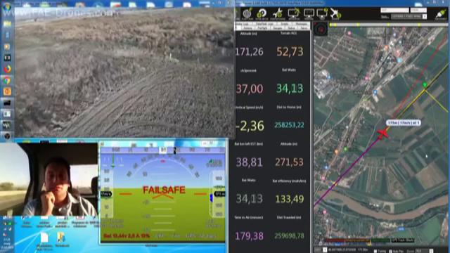 Premieră mondială. Un român a construit o dronă pe care a ghidat-o deasupra Carpaților - Imaginea 3